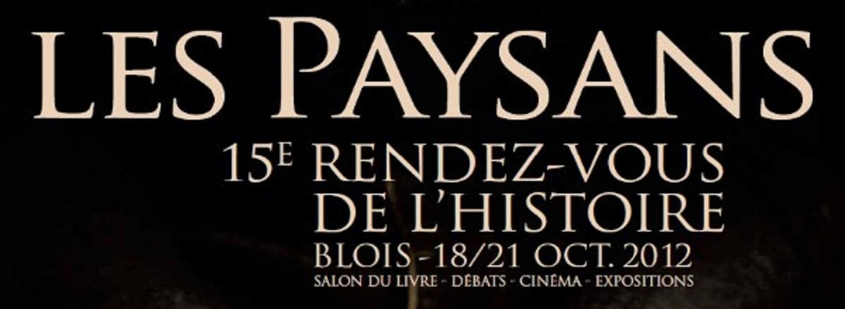 Atlantes & Cariatides aux Rendez-Vous de l'Histoire de Blois