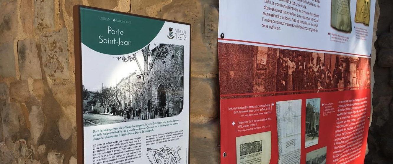Un nouveau parcours du patrimoine pour la ville de Trets
