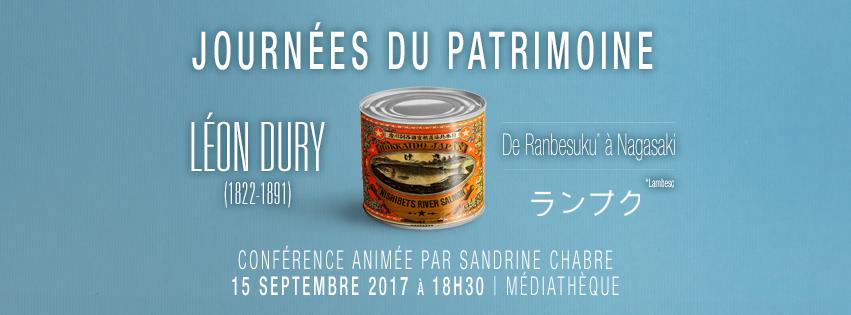 Rencontre avec Léon Dury (1822-1891) – Journées du Patrimoine 2017, Lambesc