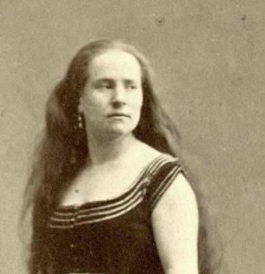 Rosa Bordas en 1870