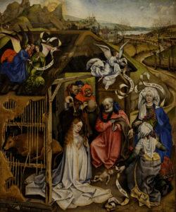 Robert Campin, La Nativité, vers 1420