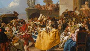 Giovanni Domenico Tiepolo, Le Menuet, 1754