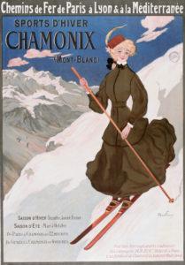 Sports d'hiver à Chamonix, 1905