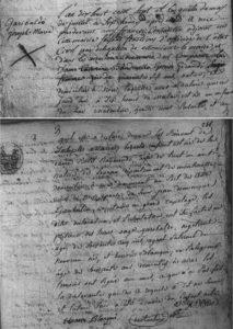 Acte de naissance de Giuseppe Garibaldi