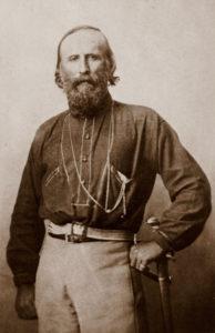 Garibaldi en 1861